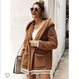 Jackets & Blazers - 🆕 Khaki Sherpa Coat